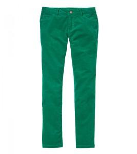 Вельветовые брюки на девочку