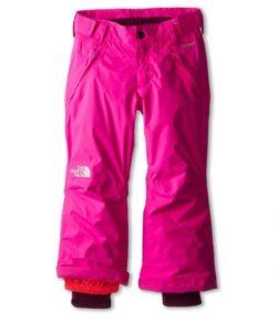 the north face лыжные брюки на девочку