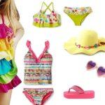 Модные детские купальники 2018: тенденции