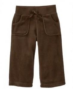 Велюровые брюки old navy 3t
