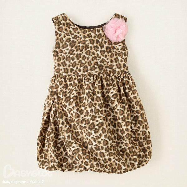 Платье Childrensplace замеры фото