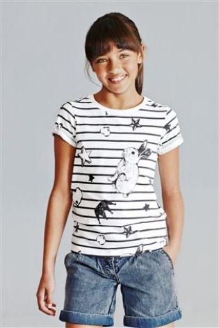 Стильная детская футболка