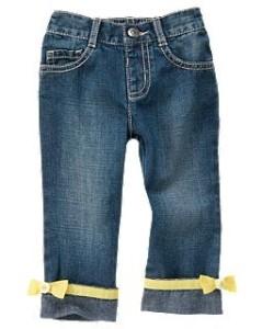 Размеры джинс Gymboree