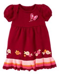 Вязаное платье Gymboree замеры