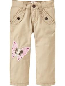 Летние брюки на девочку Old navy