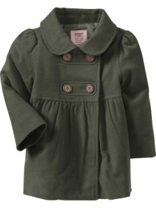 Пальто на девочку Олд неви замеры