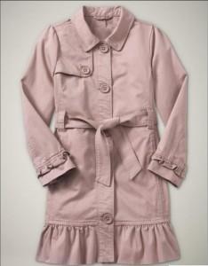 Пальто на девочку Gap