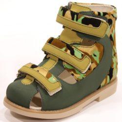 ortuzzi ортопедические сандалии на мальчика