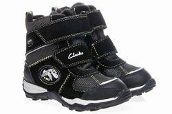 clarks gore tex зимние ботинки на мальчика