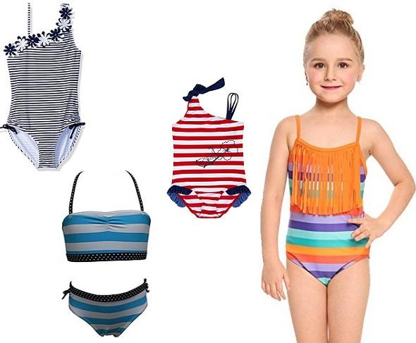 Детские купальники для девочек 2018