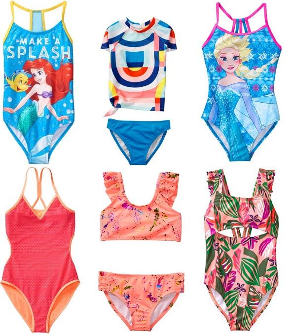 Где купить купальник для девочки