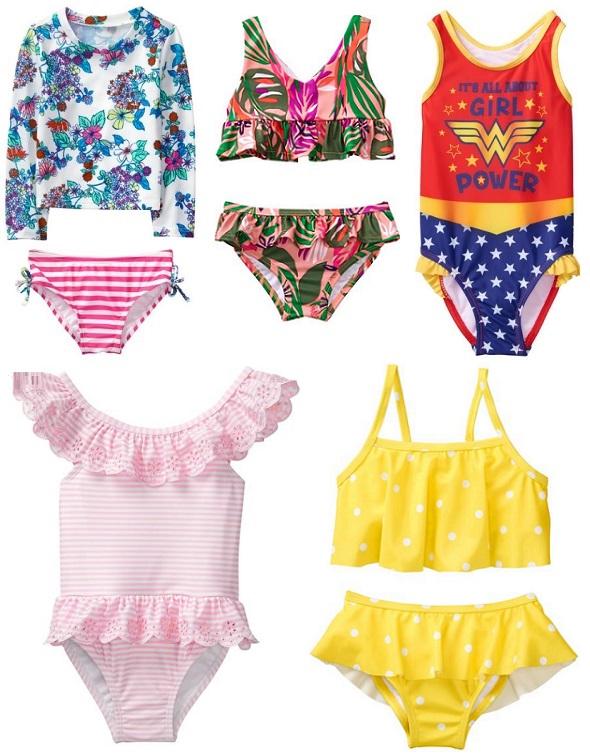 Где можно купить купальник для девочки