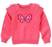 gymboree свитер на девочку