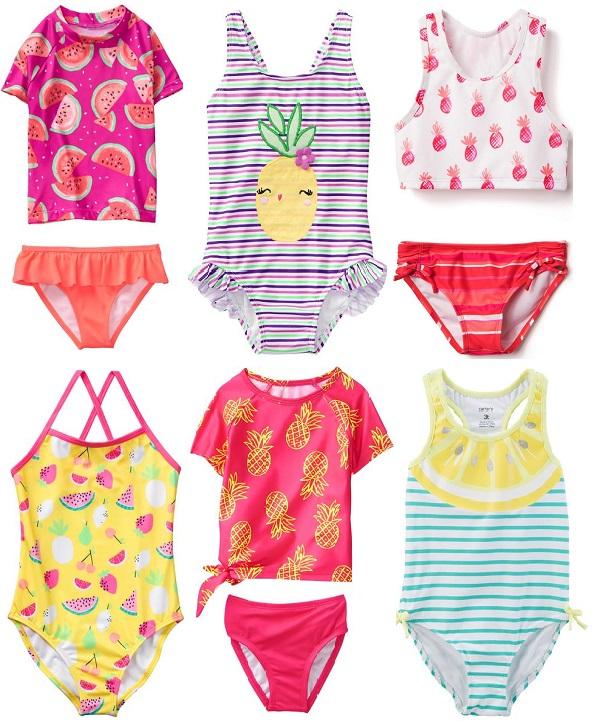 Какие детские купальники модные в 2018 году
