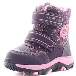 Капика ботинки на девочку