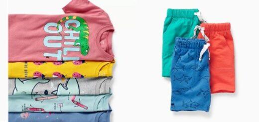 Размерная сетка одежды Картерс